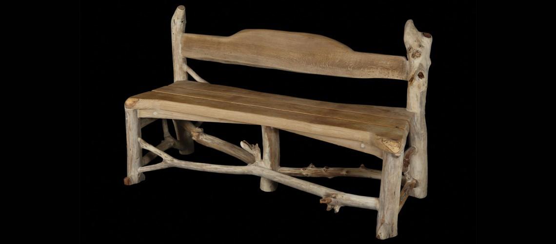 Acqua lenghju des meubles en bois flott sur mesure for Salon de jardin en bois flotte