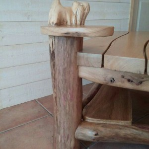 table basse bois flotté