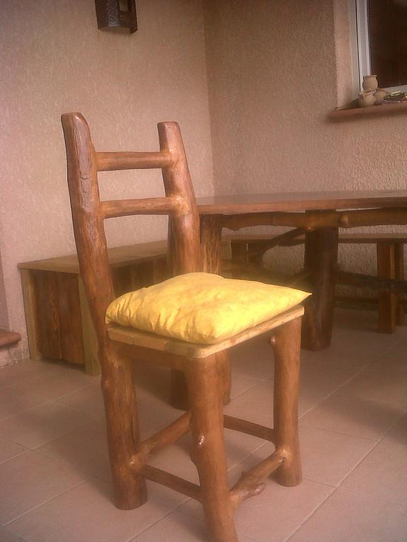 Chaise bois flotté