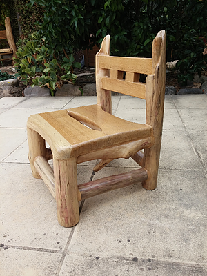 petite chaise bois flotté