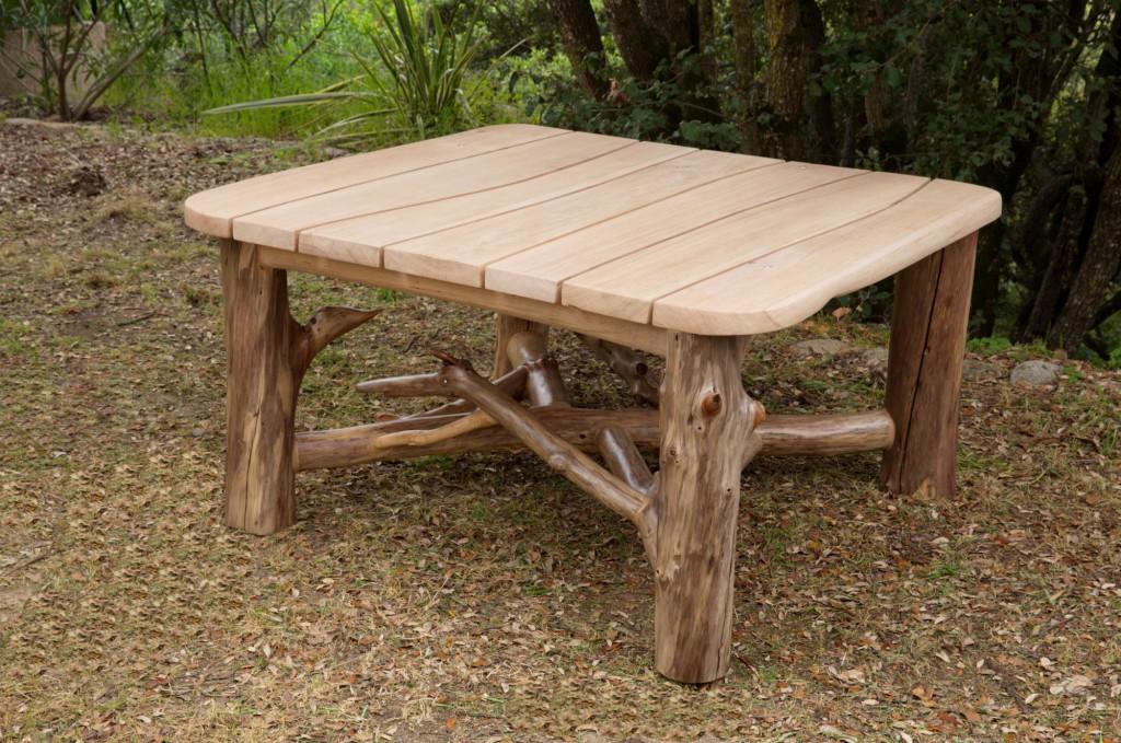 Table manger acqua lenghju des meubles en bois flott sur mesure - Meuble bois flotte ...