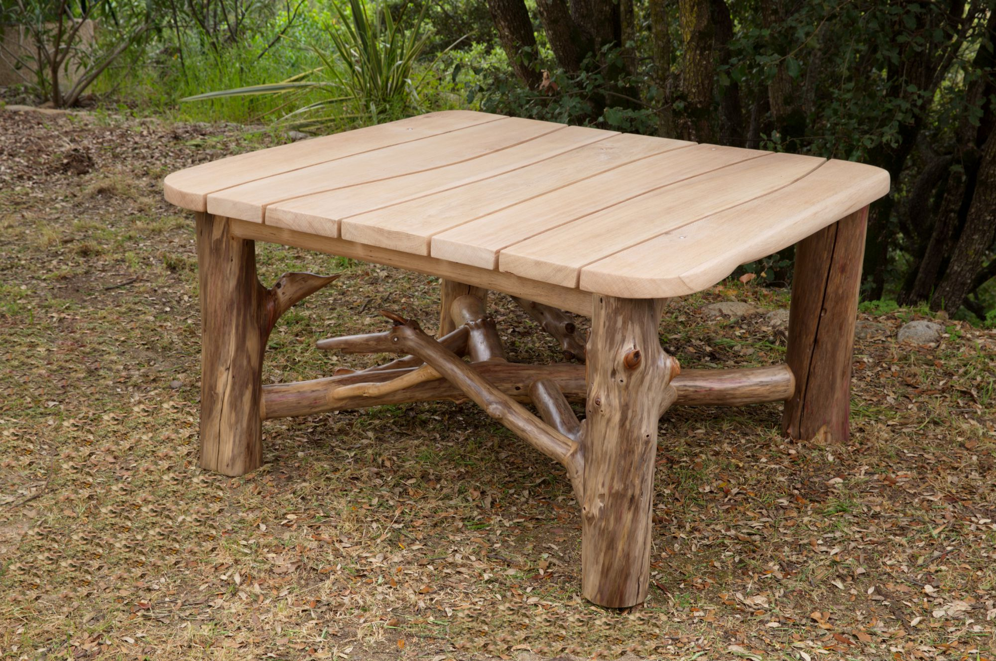 Table bois flott fashion designs - Meuble en bois flotte ...